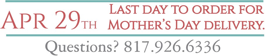 Mother's Day Gifts Shipping Deadline